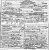 Death Certificate of Farley Gray
