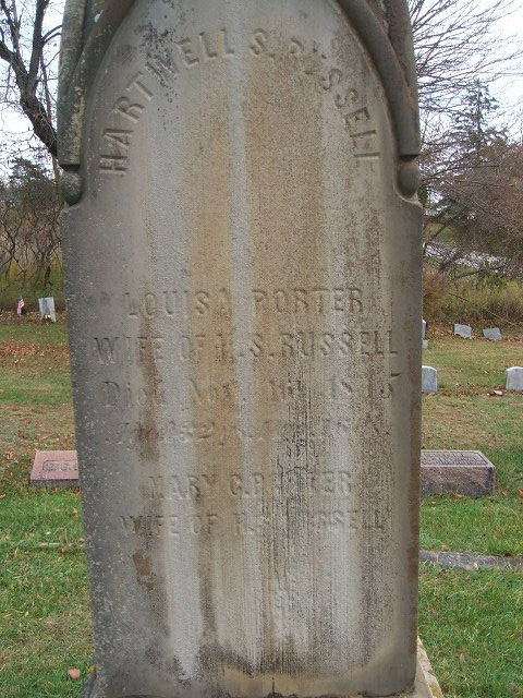 Louisa Porter Russell (w/o Hartwell Russell)