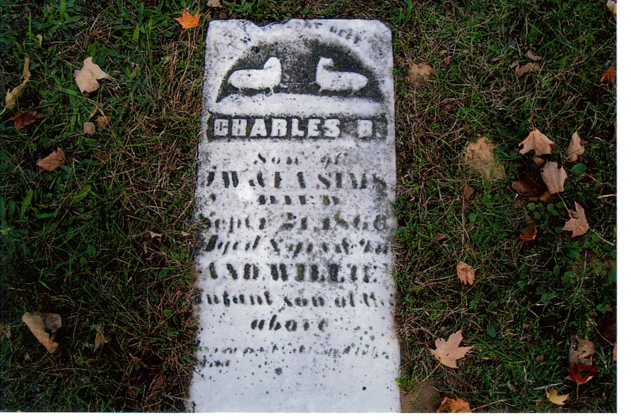 Charles and Willie Sims - Birch Run Cemetery