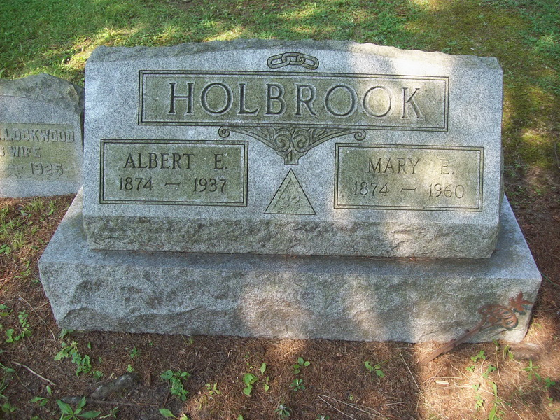 Albert and Mary (Applin) Holbrook