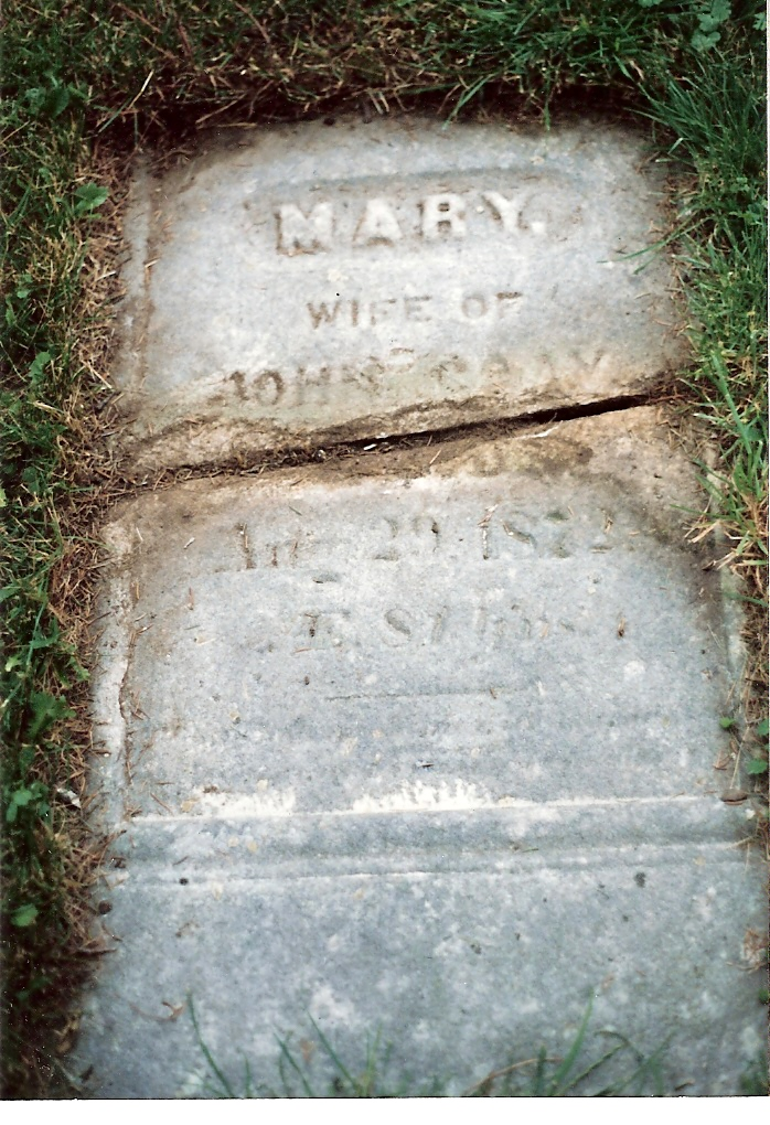 Mary (Timmer) Gray, Lakeview Cemetery