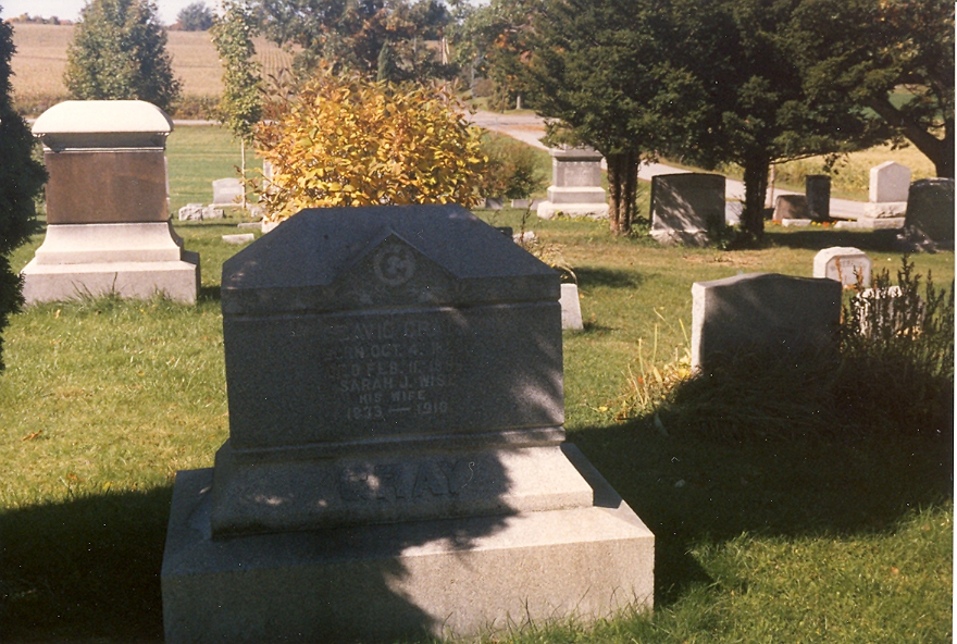 David and Sarah (Wise) Gray, Lakeview Cemetery