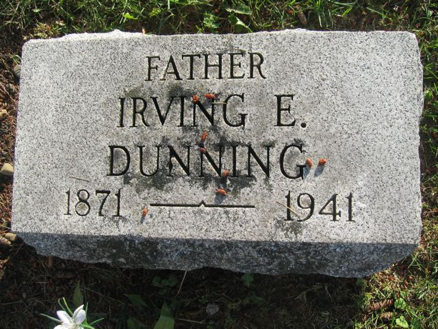 Irving Dunning - Heritage Hill Cemetery