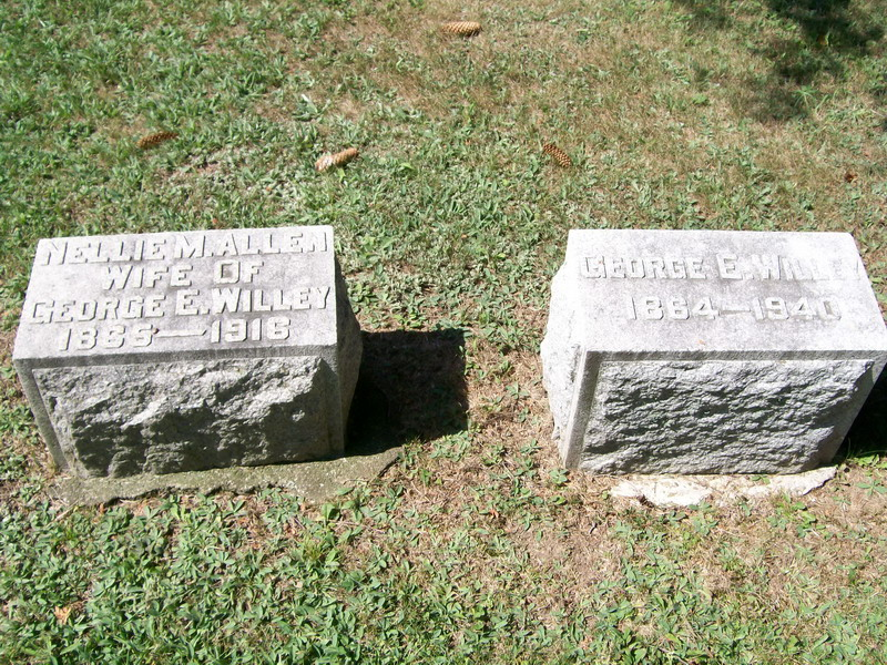 George and Nellie(Allen) Willey - Forest Lawn Cemetery