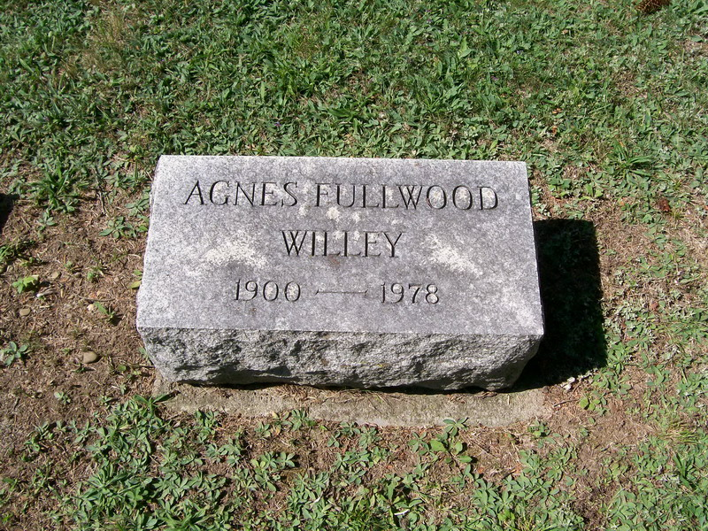 Agnes (Fullwood) Willey - Forest Lawn Cemetery