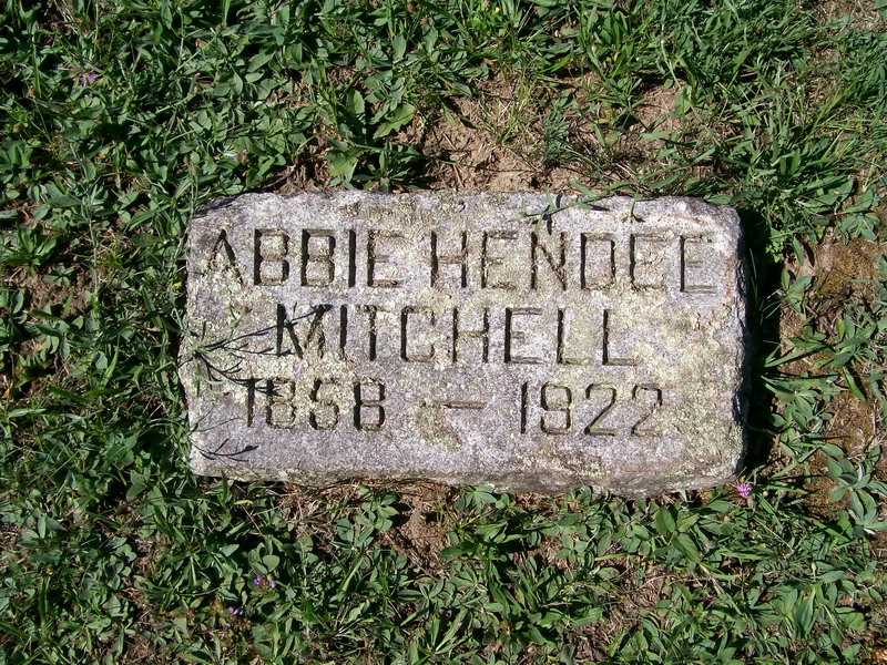 Abbie (Hendee) Mitchell - Forest Lawn Cemetery