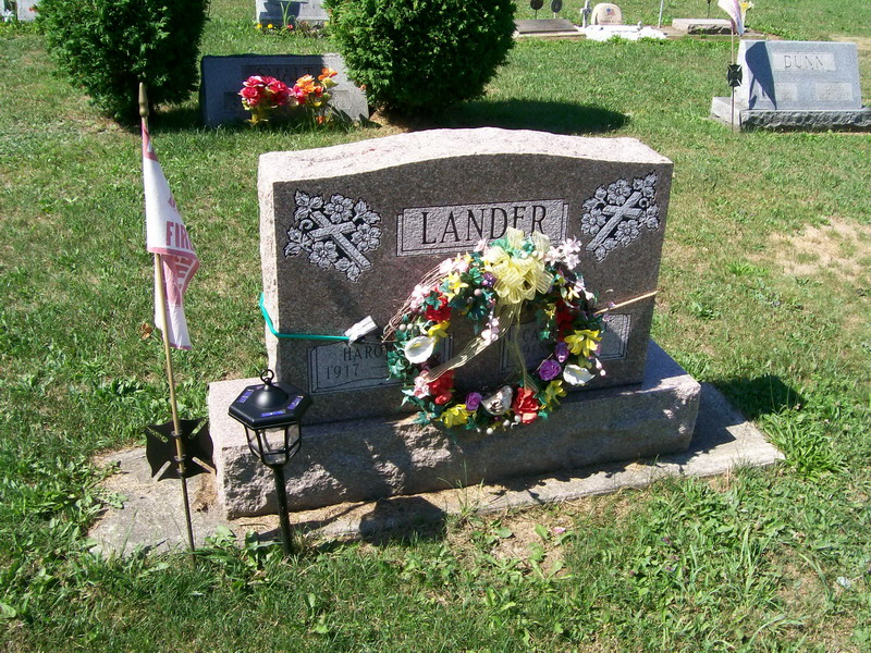 Harold and Catherine(Isaman) Lander - Forest Lawn Cemetery