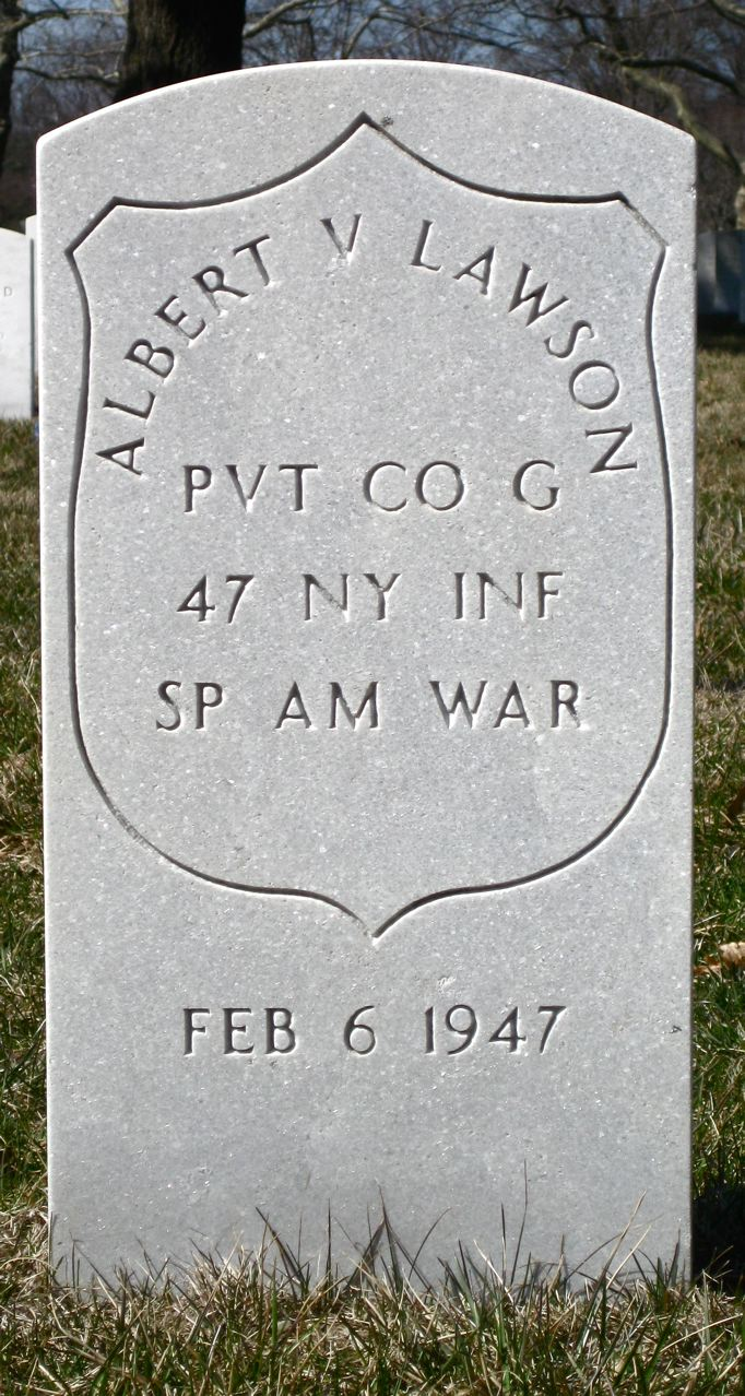 Albert V. Lawson - Long Island National Cemetery