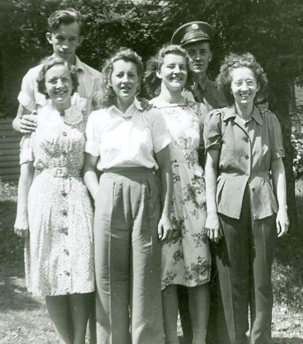 Mitchell Siblings - 1942