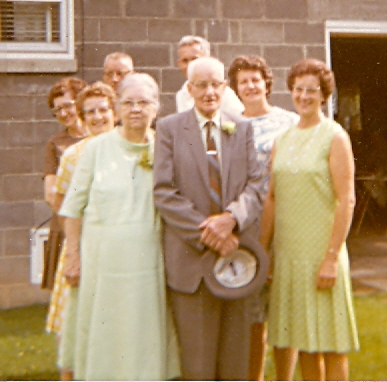 55th Wedding Anniversary of Carl and Ettabell Mitchell