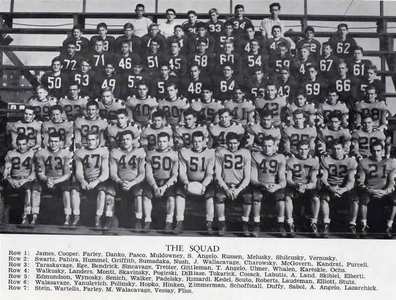 1947 Minersville High School Varsity Football